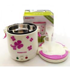 Sunnyco Mini Rice Cooker , Magic Jar , Magic Com ,Penanak Nasi 1.0 Liter