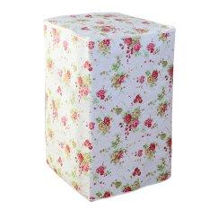 Tokomuda Floral Waterproof Washing Machine Cover Protection Shield Buka Atas