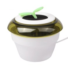 Universal Car Air Purifier 2 in 1 USB Peace Grass Car Fresh Air Purifier Ionizer Oxygen Air Purifier - Putih