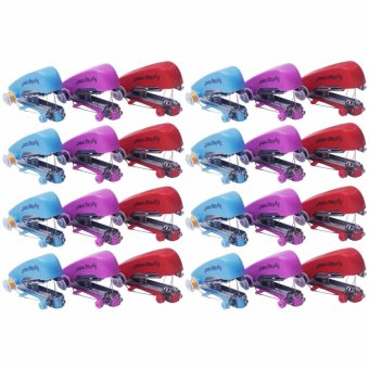 Yala Paket 24 Buah Mesin Jahit Mini Handheld Sewing Machine (Multicolor)