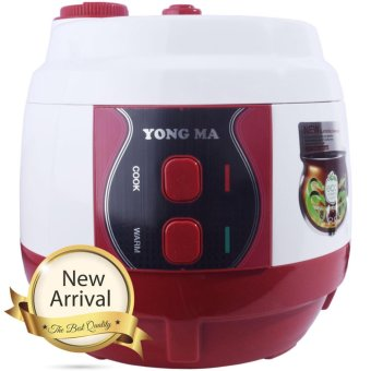 Yongma Magic Com,Rice Cooker,Magic Jar, Penanak Nasi 2 LiterInnerpot Black Hole - YMC210