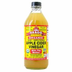 Bragg Apple Cider Vinegar ACV Cuka Apel 473 Ml, Raw Organic with the Mother