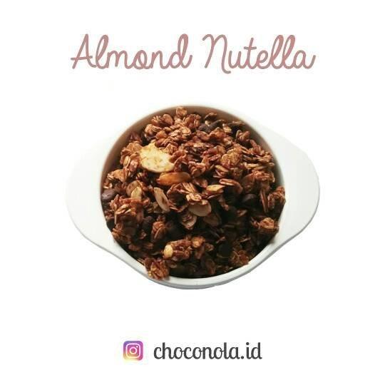 Choconola Almond Nutella Granola 125g