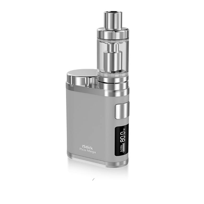 Eleaf Istick Pico Mega 80 Watt Starter Kit With Melo Iii 4ml Authentic - Silver