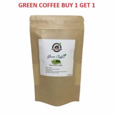 HouseOfOrganix ( BUY 1 GET 1 ) Natural Raw Green Coffee - 100 Gr