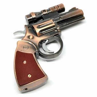 Korek Api Bentuk Pistol Korek Api Keren / Gun Windproof Lighter with Laser