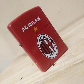 Korek Api Komunitas - AC Milan ( Lighter ) Anti Angin