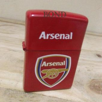 Korek Api Komunitas Arsenal Lighter Anti Angin