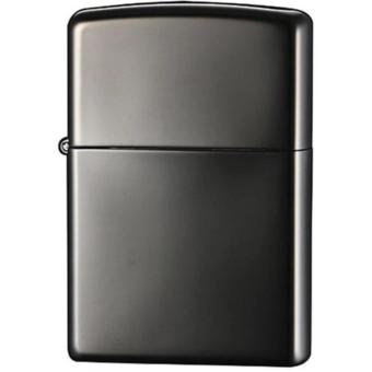 Korek Api Zippo Regular Anti Angin Metal - TOX - Hitam