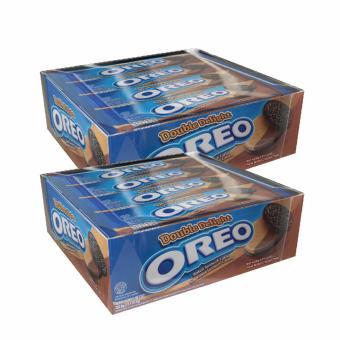 Harga Terbaru Oreo Biskuit Double Delight x 2 Box [24 pcs]