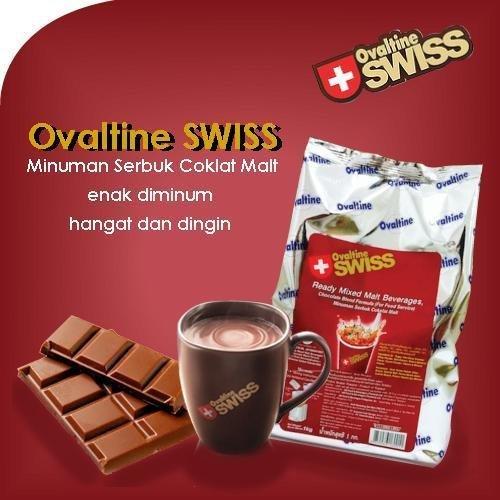 Ovaltine - Ovaltine Swiss 1Kg Coklat Malt Import Thailand