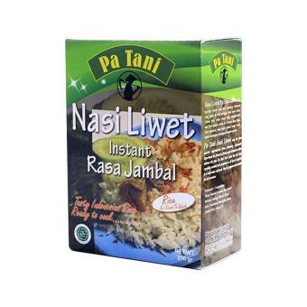 1001 Nasi Uduk Instan Paket 3 kotak Ezyhero Source · Pa Tani Rasa Jambal Nasi Liwet Instan 500 gr