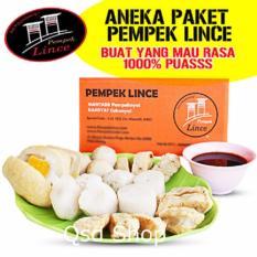 Pempek Lince Paket Pulau Kemaro Isi 45 Pcs - ANEKA Paket 2 Kg