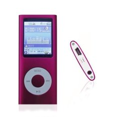 "1.78"" LCD Mp3 Mp4 Player with 16G Memory Card and Accessories-Pink Color (Intl)"