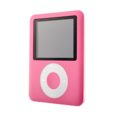 1.8 Inch LCD Screen Mp3 / Mp4 Music Radio Movie Player + Free 8GB Memory Card (Pink) (Intl)