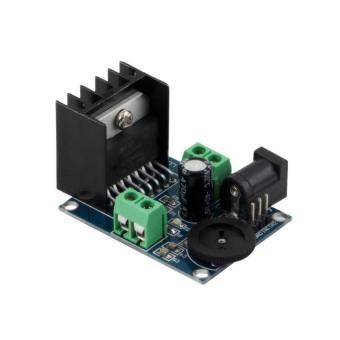 1 buah Dc 6 untuk 18 V Tda7297 modul penguat daya Audio Double Channel 10-