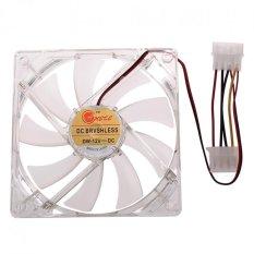 120mm Fans 4 LED LED Blue Computer Case Cooling