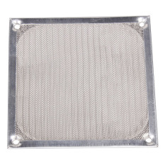 120mmx120mm Aluminum Dustproof Cover Dust Filter For PC Cooling Chassis Fan