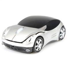 1600DPI 3D Car Shape 2.4G Wireless Optical Mouse USB Receiver PC Laptop WIN7 W (Intl)