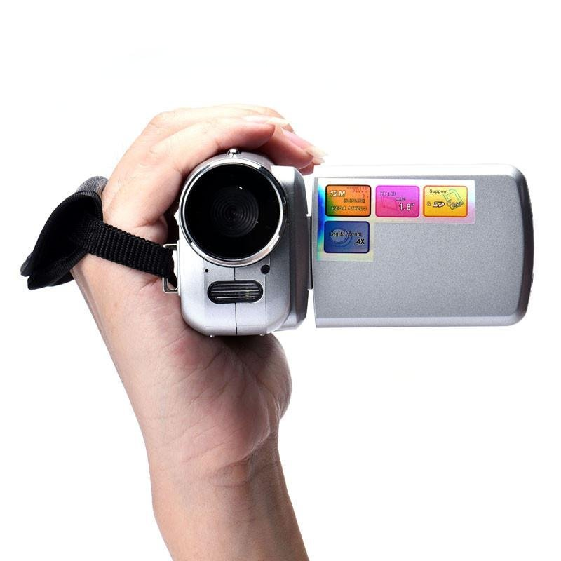 1.8 Inch TFT 4X Digital Zoom Mini Video Camera - intl