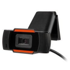 180 Degree Rotatable HD Webcam Clip-on Web PC Camera with MIC For Home Office