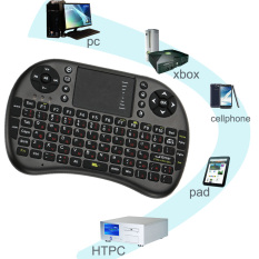 2.4Ghz Wireless Mini USB Wireless Russian Letter Gaming Keyboard Touchpad For Loptop Desktop Android Windows TV Box Other Phones