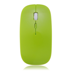 2.4GHZ Wireless USB Optical Ultra Thin Slim Mouse Mice For Computer PC Or Laptop Green