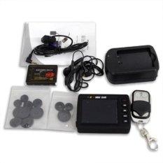 2.5 Inch LCD Portable Mini DVR SPY Camera Piece Set (Black) (Intl)
