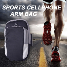 2016 Best Quality Running Arm Bag Jogging GYM Adjustable Waterproof Arm Band Cover Wallet Sport Riding Cycling Bags For IPhone5S / SE (Black)