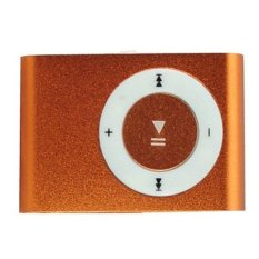 2016 High Quality MP3 Player With Micro TF / SD Card Slot Sports Mini MP3 (Orange) (Intl)