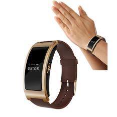 2016 HOT SALE Fashion CK11 gelang arloji pintar Band tekanan darah Monitor denyut jantung alat pengukur langkah pusat bagus (Gold)