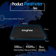 2016 KingFast Brand New Model F10 Pro Solid State Drive 240GB SATA3 6Gb / S 2.5 Inch 7mm SSD Support Windows 10 High Speed