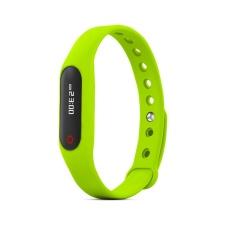 2016 Original Skmei Smart Band Fitness Sleep Tracker Heart RateMonitor Pulse Wristband Bracelet For Bluetooth 4.0 Android / IOSGreen - Intl