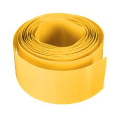 29.5MM PVC Heat Shrink Tubing Layflat Wrap Li-ion 1865.18500 Battery 2M (Yellow) (Intl)