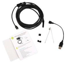 2M 7MM Android Endoscope Inspection USB Borescope LED Tube Snake Camera Scope - intl