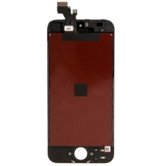 3 In 1 (New High Qualiay LCD + Touch Pad + LCD Frame) Complete LCD Screen Digitizer Assembly For IPhone 5 (Black) - Intl