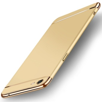 3 in 1 Ultra thin PC hard cover case phone case for Oppo F3Plus(Gold) - intl