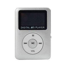32GBUSB Digital MP3 Player LCD Screen (Silver)