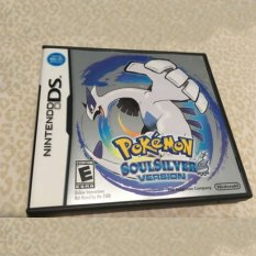 3DS Lite 2DS / 3DS / DSI / DS For Pokemon 2007 SoulSilver Version Game Card Gifts