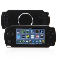 4.3-Inch TFT Screen MP4 MP5 PSP Game Camera Video E-book Music Built-in A 8GB Memory Card And 3000 Video Games (Black)