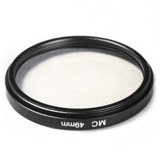 49mm MC UV Camera Multi Coated Ultra-violet Filter Protector For Sony Canon Pentax (Black)
