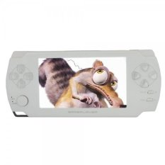"4GB 4.3"" Ultra-thin LCD Touch Screen New Game MP3 MP4 MP5 Player Camera E-Book (TXT PDF) (White) - Intl"