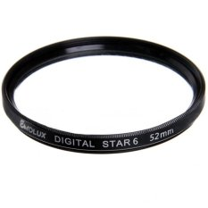 52mm Star 6 Point Filter For Nikon Canon (Intl)