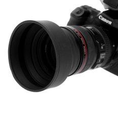 58MM Lens Camera Hood Black
