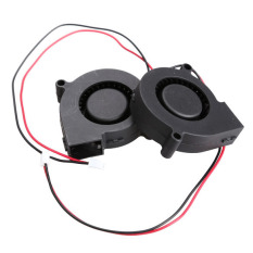 5Pcs Black Brushless DC Cooling Blower Fan 5015.5V 0.07.50x15mm