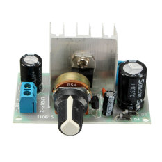 6-24V LM317 AC / DC To DC Adjustable Voltage Regulator Step-down Power Module