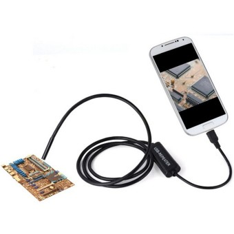 6 LED 7mm Lens USB Endoscope Borescope Waterproof Tube Snake Camera for Android 2M