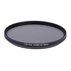 62mm Fader ND Filter Neutral Density Adjustable ND2 To ND400 For DSLR Canon