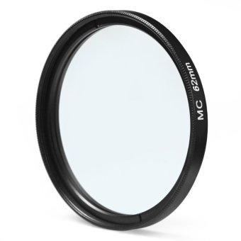 62mm MC UV Camera Multi Coated Ultra-violet Filter Protector For Sony Canon Pentax (Black)