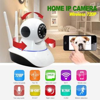 720P IP camera wifi wireless HD video surveillance security camera P2P IR infrared night vision cctv camera wi-fi baby monitor - intl